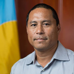 <p>Secilil Eldebechel, chief of staff for the president of Palau // © 2017 Secilil Eldebechel</p><p>Feature image (above): Palau's government is now...
