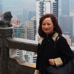 <p>Hong Kong specialist Laura Woo at the top of Victoria Peak // © 2014 Laura Woo</p><p>Feature image (above): The Hong Kong skyline is one of the...