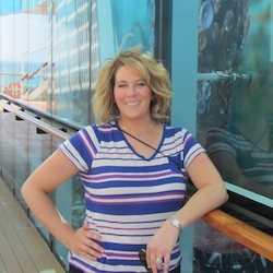 <p>Travel agent Lesley Egbert onboard Celebrity Silhouette during Avoya Travel's annual conference // © 2015 Lesley Egbert</p><p>Feature image...