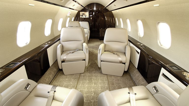 PrivateFly gives advisors the option to personalize a jet.