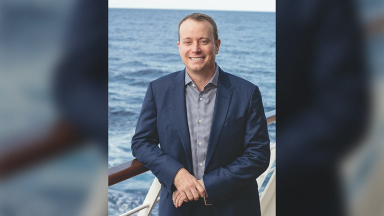 Jason Montague, president and CEO of Regent Seven Seas Cruises