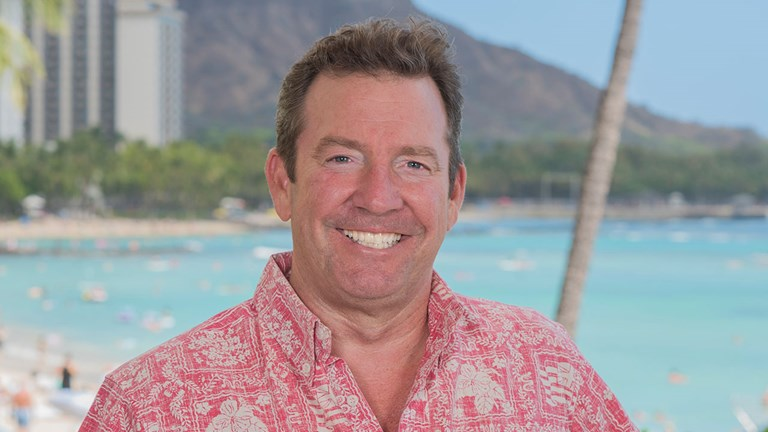 Sean Dee, executive vice president and CMO for Outrigger Hospitality Group