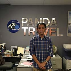 <p>Mel Danglapin, assistant manager at Panda Travel in Honolulu  // © 2016 Mel Danglapin</p><p>Feature image (above): Danglapin was born and raised in...