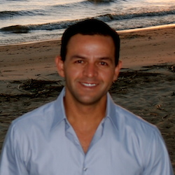 Carlos Monge is a high-end leisure travel agent with New Act Travel in Los Angeles. // © 2014 Carlos Monge