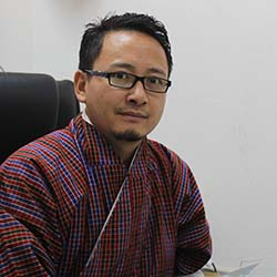 <p>Damcho Rinzin, the head of the tourism promotion division at the Tourism Council of Bhutan // © 2017 Damcho Rinzin</p><p>Feature image (above):...