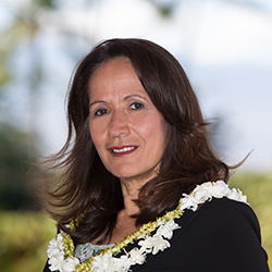 <p>Deanna Isbister, director of leisure sales for the Island of Hawaii Visitors Bureau // © 2017 Toby Hoogs</p><p>Feature image (above): For clients...