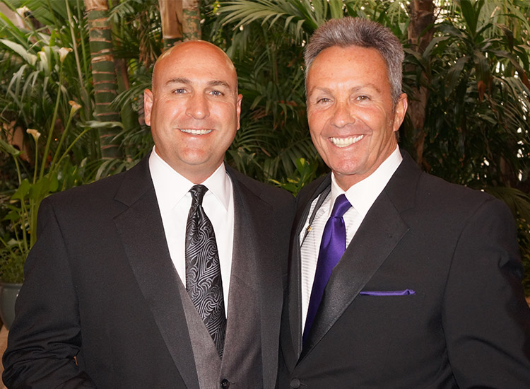 Ron Cerko/Enterprise Holdings (L) and Bruce Shulman/Northstar Travel Media