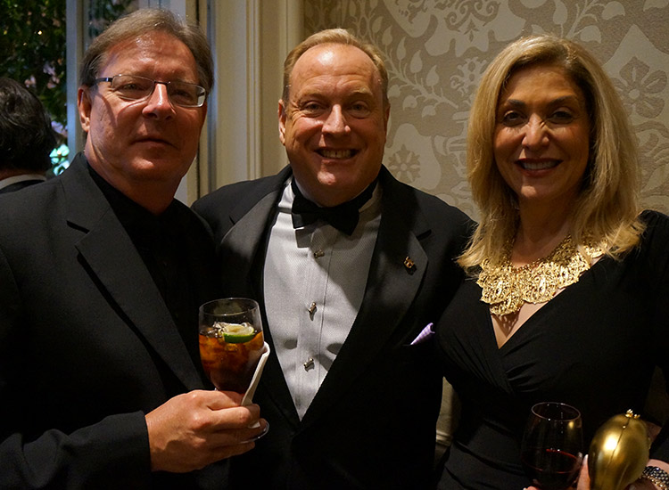 John Glowicki/Montecito Travel, Randy Raudt/Royal Caribbean International, Edie Bornstein/Azamara Club Cruises