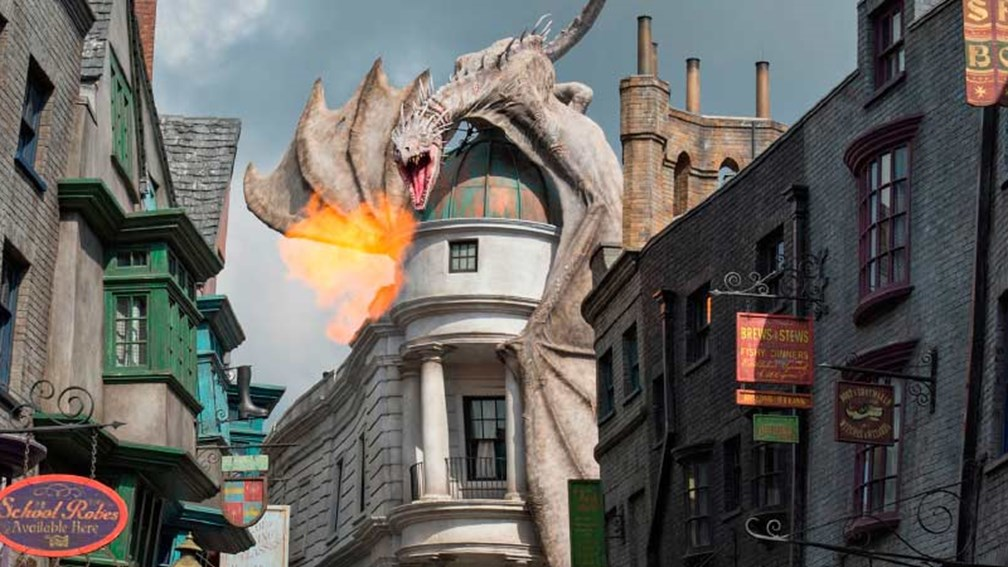 Muggle families can experience The Wizarding World of Harry Potter with special deals. // © 2015 Universal Orlando Resort 2