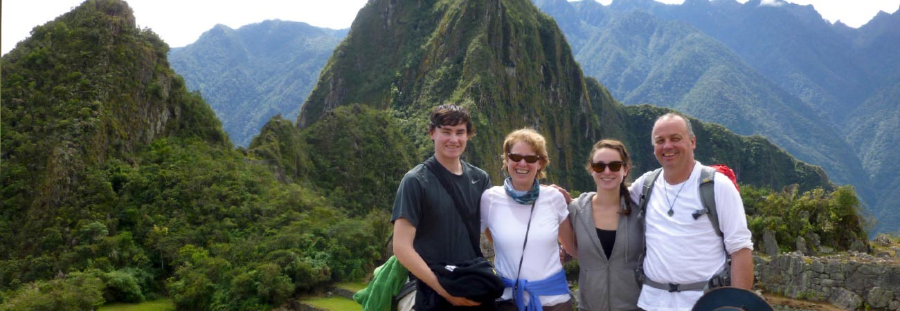 Family Trekking on the Inca Trail