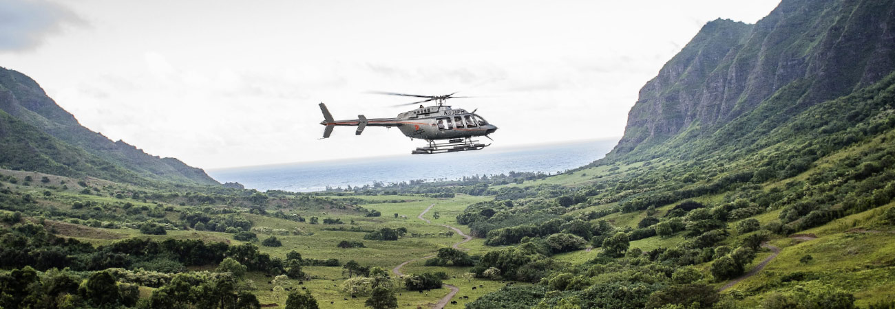 2 New Helicopter Tours for All Ages in Hawaii