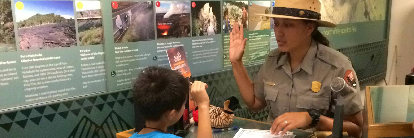National Parks in Hawaii Welcome Junior Rangers