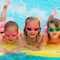 <p>South Seas Island Resort offers swimming lessons, banana-boat rides and more. // © 2015 South Seas Island Resort</p><p>Feature image (above): Kids...