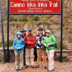 <p>With a guide's help, the Sheaffers were prepared for trek challenges. // © 2015 Cindy D. Sheaffer</p><p>Feature image (above): The family reached...