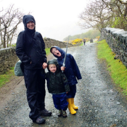 "<p><span style=""font-family: 'trebuchet ms', sans-serif; font-size: 13px;"">The writer and her two sons braved rainy weather to see the site. // © 2015..."
