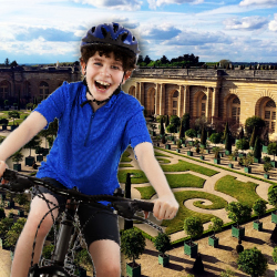 Guests on Fat Tire Bike Tours' Versailles ride will see the Orangerie and snack on local foods. // © 2015 Thinkstock; Fat Tire Bike Tours/Keryn Means