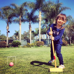 <p>A lawn for croquet and a duck pond are among amenities for kids at Park Hyatt Aviara // © 2015 Chelsee Lowe</p><p>Feature image (above): Near the...
