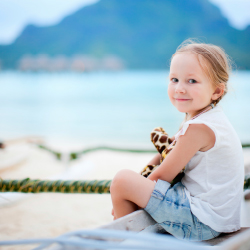 <p>Kids can fly to Tahiti at a discounted rate with Air Tahiti Nui. // © 2015 iStock</p><p>Feature image (above): Single parents can save on travel to...