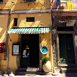 <p>Italy's Cinque Terre welcomes family travelers. // © 2015 Keryn Means</p><p>Feature image (above): The five villages of Cinque Terre line the...