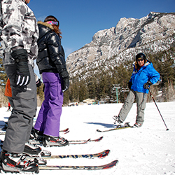 <p>Families can combine skiing with a Vegas vacation. // © 2015 Lee Canyon</p><p>Feature image (above): Choose from programs or private sessions. // ©...
