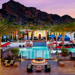 <p>Omni Scottsdale Resort & Spa at Montelucia provides a convenient base for visitors. // © 2016 Omni Scottsdale Resort & Spa at...