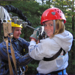 <p>Canopy Tours offers seven ziplines and two sky bridges. // © 2016 Dana Rebmann</p><p>Feature image (above): Although Sonoma is known for its...