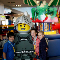 <p>Kids can meet Lego characters at the parks. // © 2016 Legoland</p><p>Feature image (above): A new hotel will come to Legoland California Resort in...