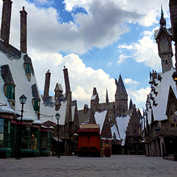 <p>Universal Studios Hollywood // © 2016 Universal Parks & Resorts</p><p>Feature image (above): The Wizarding World of Harry Potter ride Flight of...