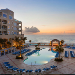 <p>Guests can walk past the pool and down to the beach cabanas that line the shore. // © 2016 Playa Hotels & Resorts Gran Caribe</p><p>Feature...