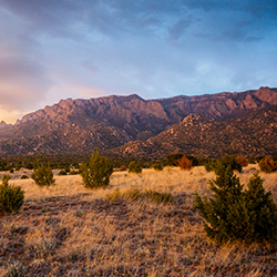 <p>Albuquerque's Sandia Mountains // © 2016 iStock</p><p>Feature image (above): Albuquerque International Balloon Fiesta // © 2016 iStock</p>