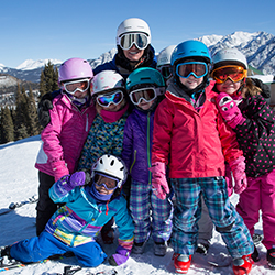 Kids can hit the slopes for free at Steamboat Ski Resort. // © 2017 Dave Camara