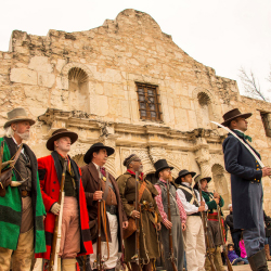 <p>Texas gained independence from Mexico during a battle at the Alamo. // © 2017 Visit San Antonio</p><p>Feature image (above): Be sure to visit San...