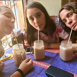 <p>The family visited Oaxaca, Mexico. // © 2017 Regina Ortiz</p><p>Feature image (above): The writer (far right) with her sister (left) and mother...