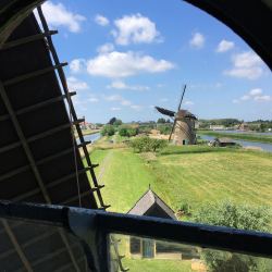 <p>The windmills of Kinderdijk make up the largest concentration of old windmills in the Netherlands. // © 2017 Dana Rebmann</p><p>Feature image...