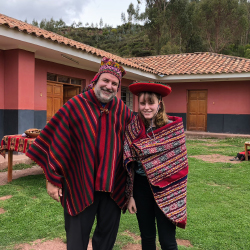 <p>The author and his daughter try on the traditional dress of the highland Quechua people. // © 2018 Kenneth Shapiro</p><p>Feature image (above):...