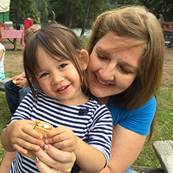 <p>The writer and her daughter made s'mores at 320 Guest Ranch's Wednesday night riverside barbecue. // © 2015 Chelsee Lowe</p><p>Feature image...