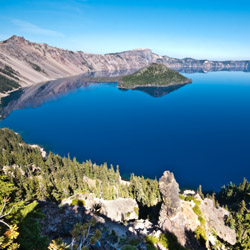 <p>A hike around and a boat ride on Crater Lake are quintessential experiences when visiting Central Oregon. // © 2015 iStock</p><p>Feature image...