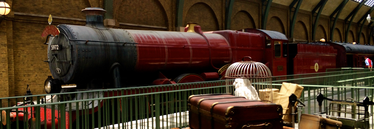 Next Stop: Diagon Alley via the Hogwarts Express