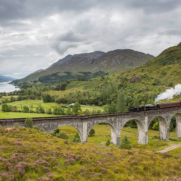 See the Scottish Highlands by Steam Train With Discover Scotland