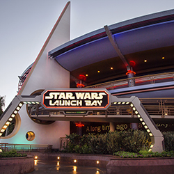 <p>Disneyland's Tomorrowland will transform for Season of the Force, a series that will run until May 26, 2016. // © 2015 Disneyland...