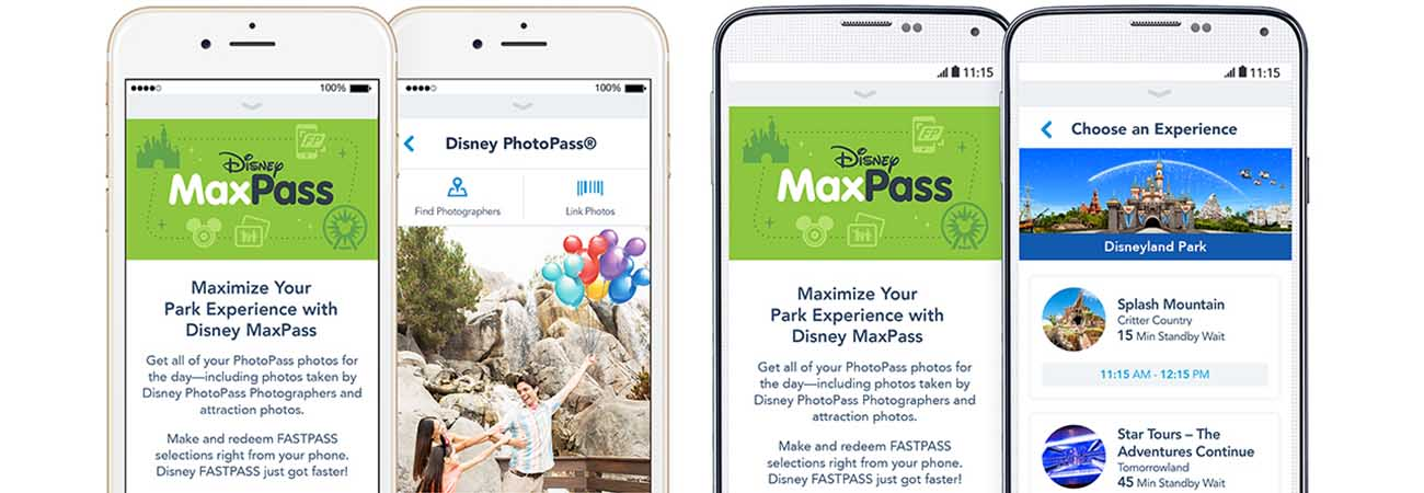 Disneyland Introduces New MaxPass System