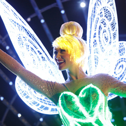 <p>Set to debut May 22, the new Paint the Night parade will include innovative costumes and special effects. // © 2015 Disneyland Resort</p><p>Feature...