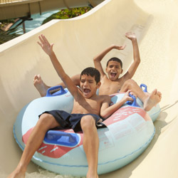 <p>Puerto Rico's El Conquistador Resort offers a 2.4-acre aquatic park with water slides and an artificial river. // © 2014 El Conquistador...