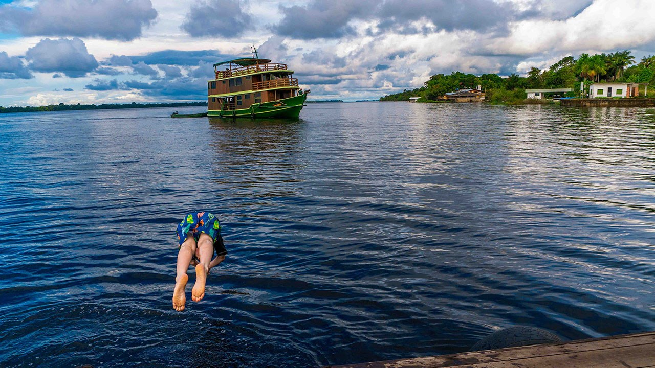 A Mother-Son Trip in the Brazilian Amazon With Our Whole Village
