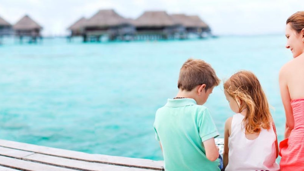 Families can explore the islands of Tahiti with Princess Cruises. // © 2013 BlueOrange Studio 3