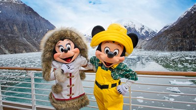What It's Like Sailing Disney Cruise Line in Alaska