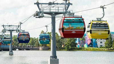 Disney World Introduces Skyliner Transportation Option
