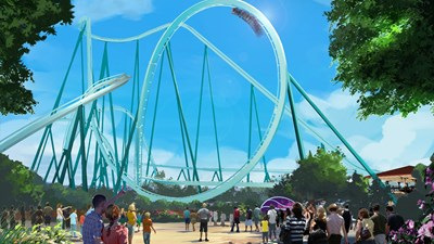 Emperor Dive Coaster to Debut at SeaWorld
