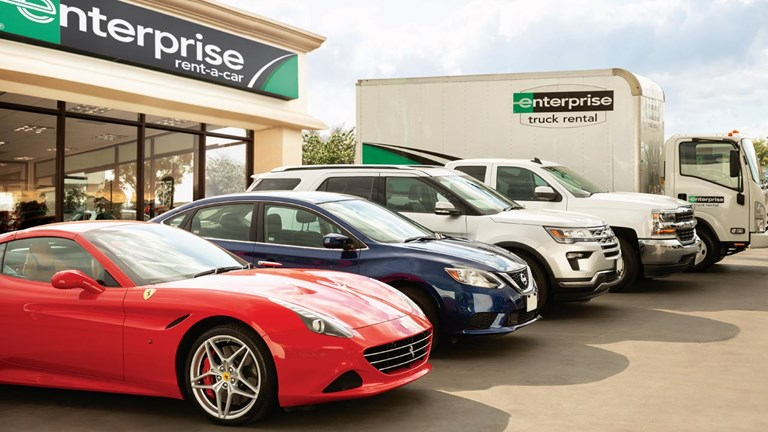 Enterprise Rent-A-Car is experiencing an uptick in bookings.