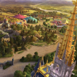 A map of New Fantasyland // © 2013 Disney